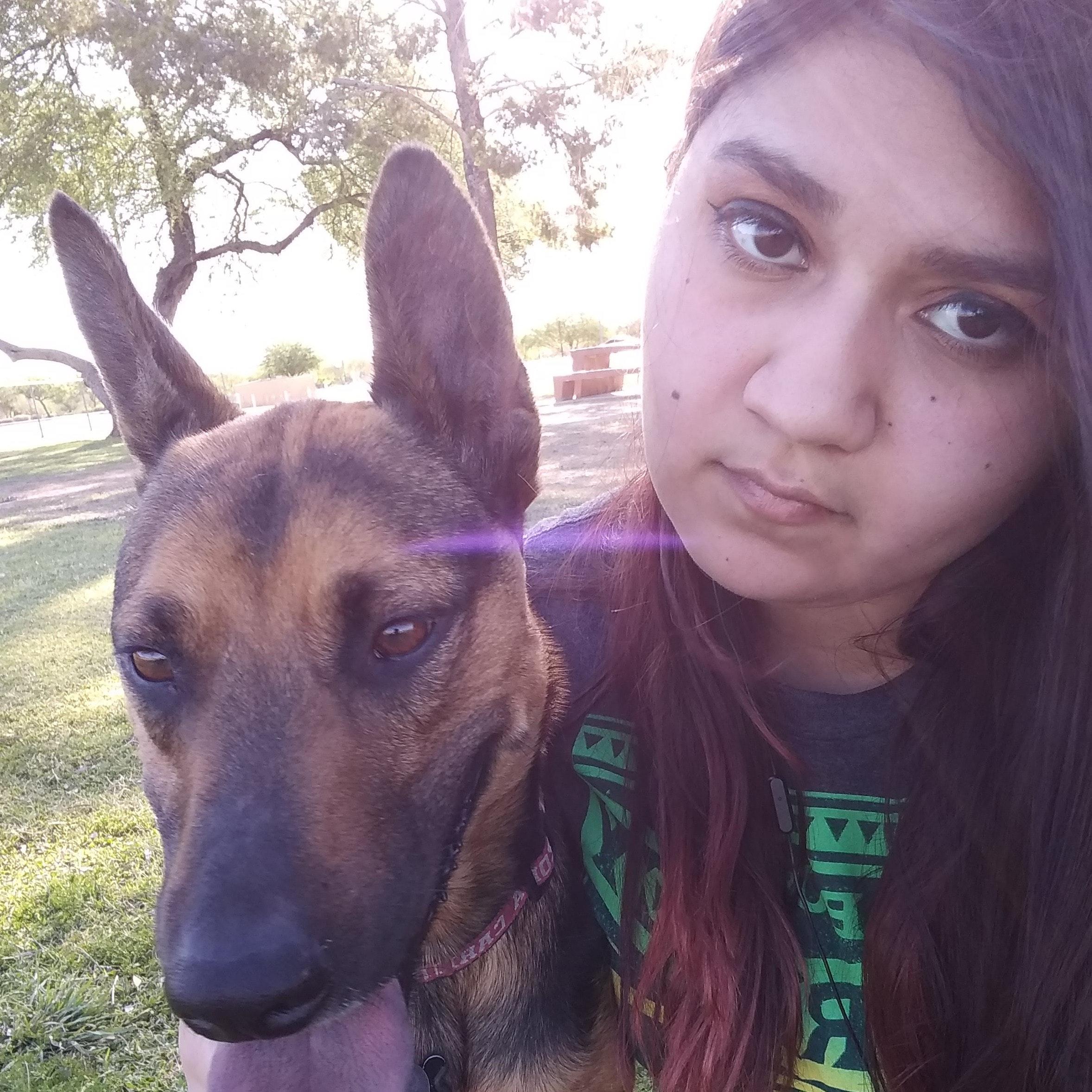 dog walker Zena