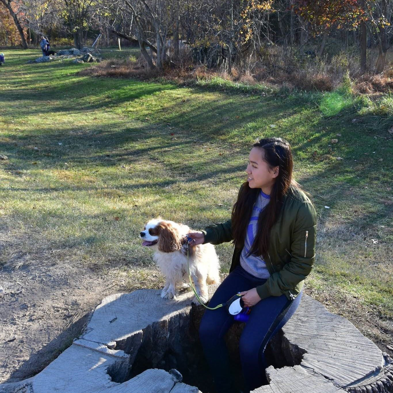 dog walker Kyoko