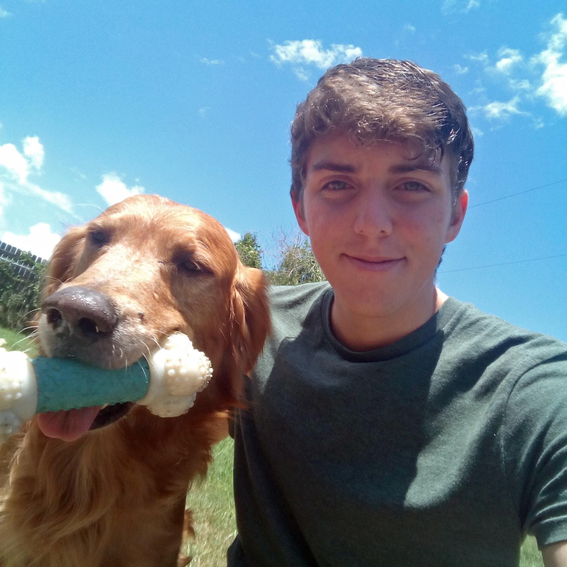 dog walker Zach