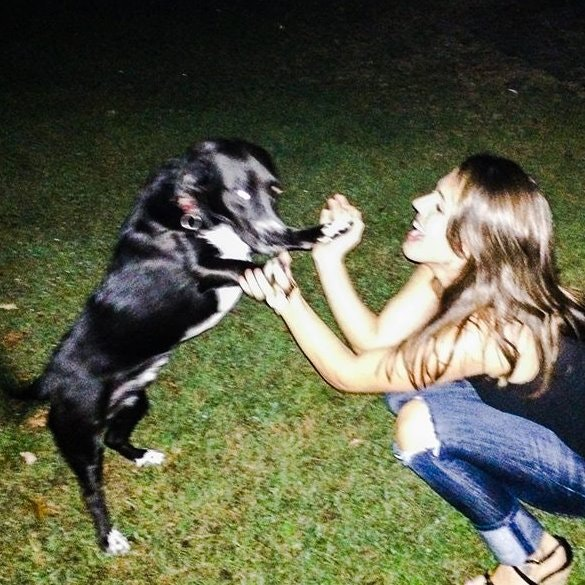 dog walker Megan