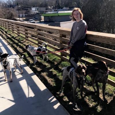 Kenslee's dog boarding