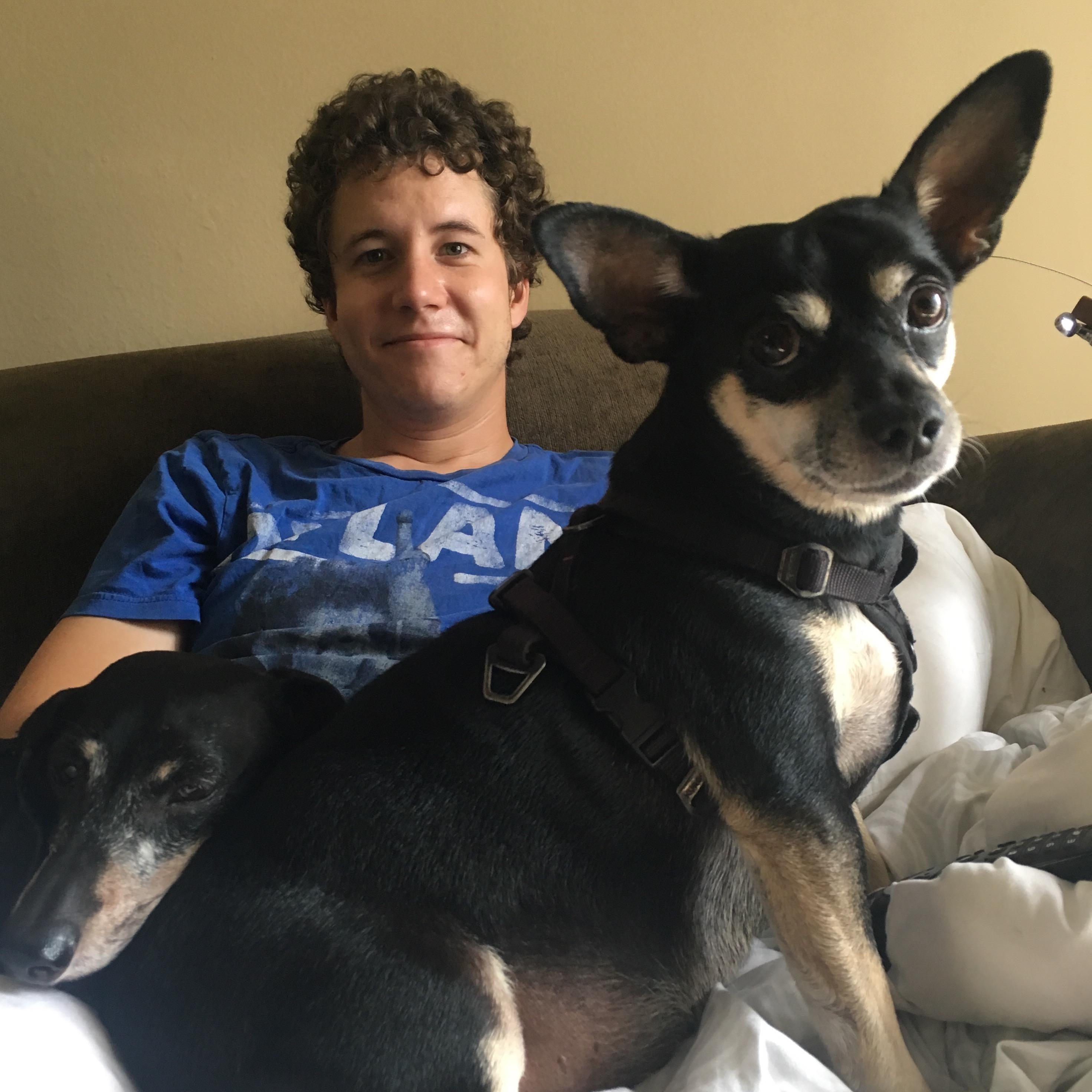 dog walker Jonathan