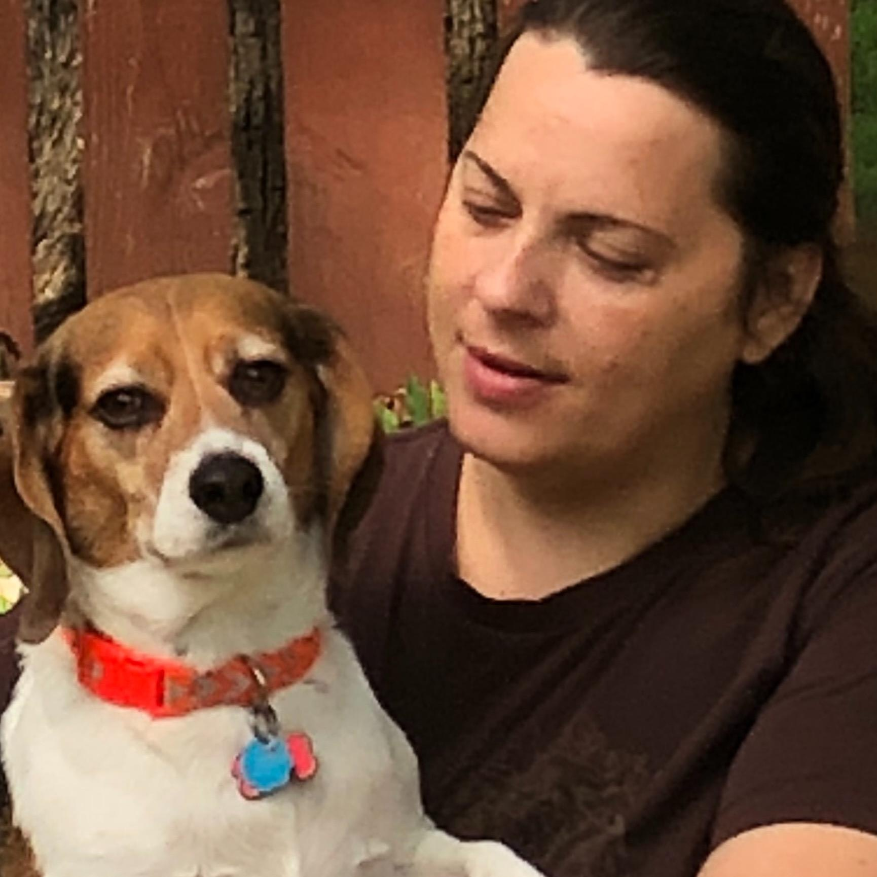 dog walker Rebbecca