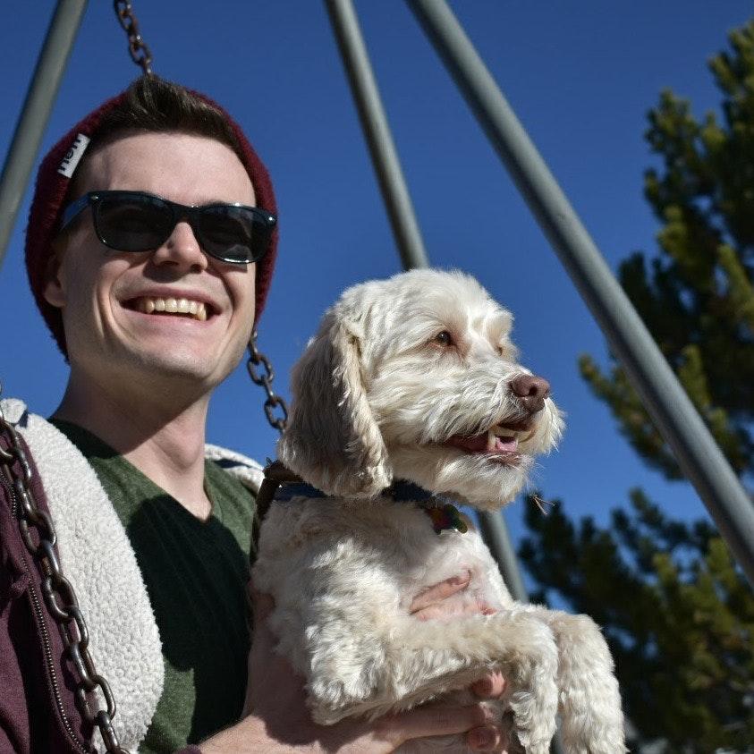 dog walker Garrett