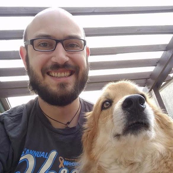dog walker Colin