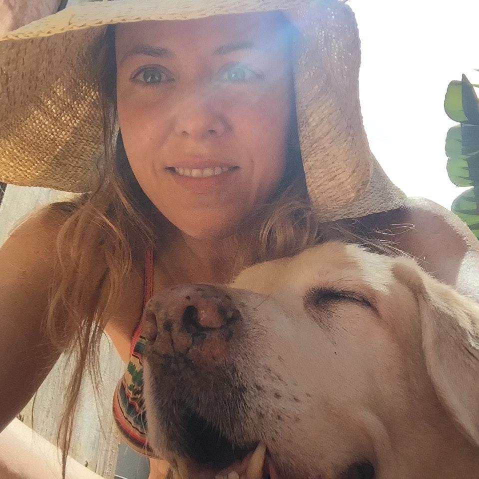 dog walker Julie