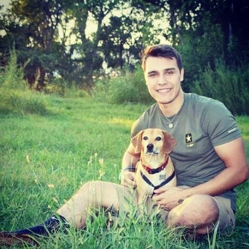 dog walker Evan