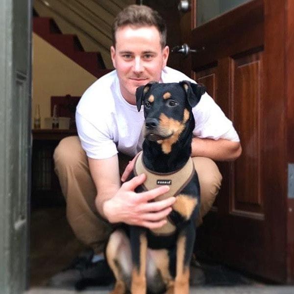 dog walker Andy