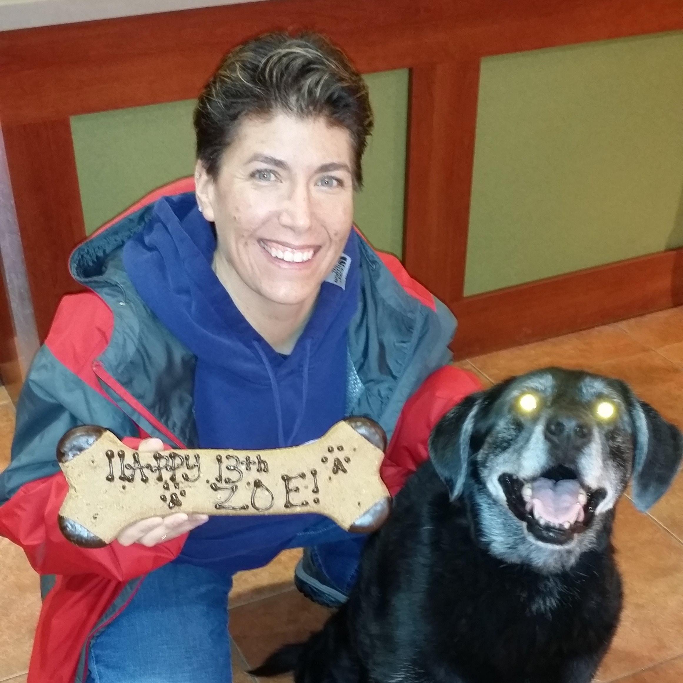 dog walker Trish