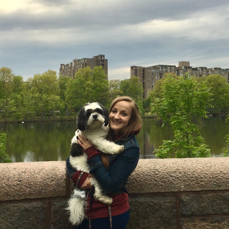 dog walker Shanleigh