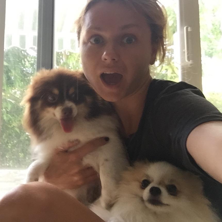 Anastasiya's dog boarding