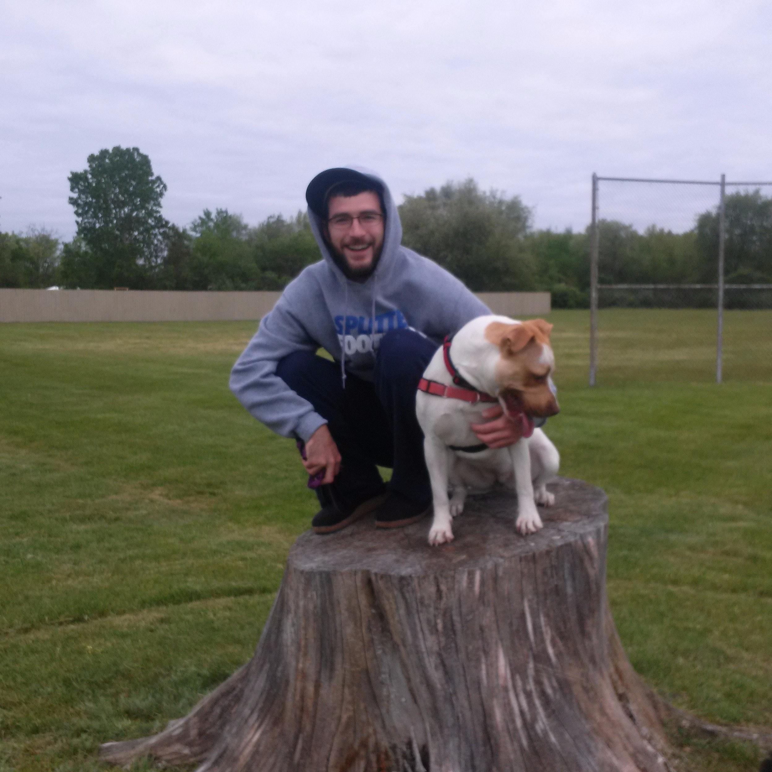 Eric's dog boarding