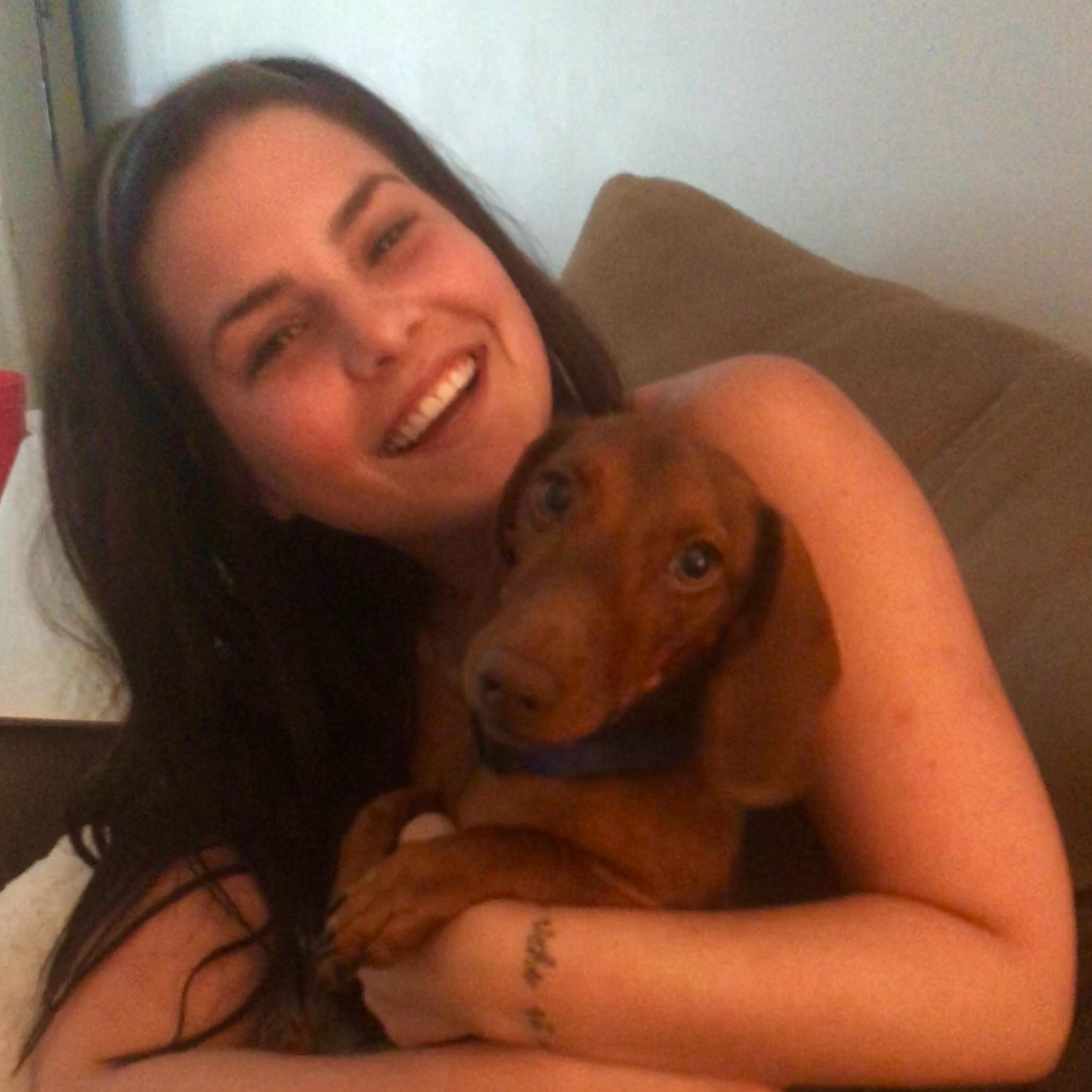 dog walker Kati