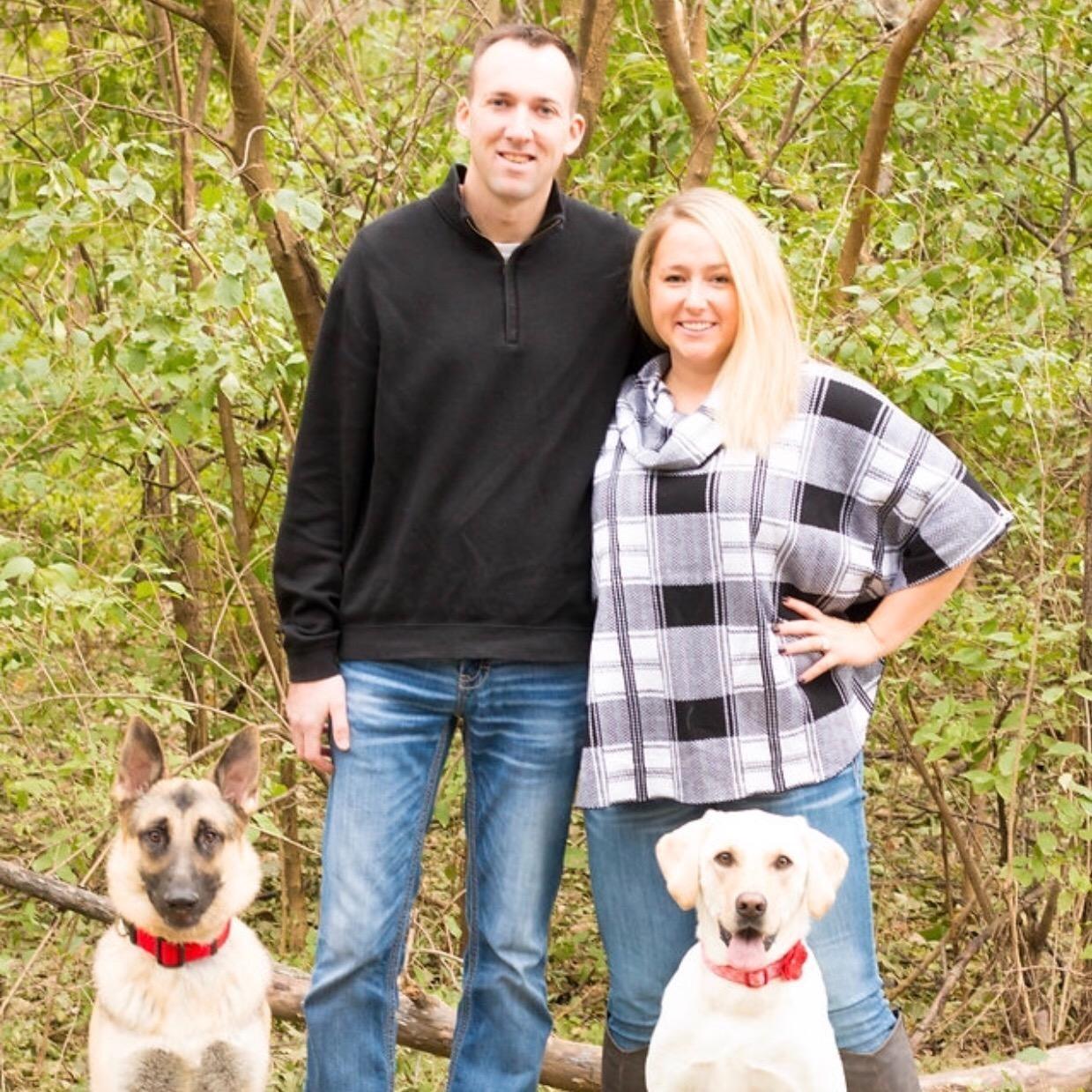 dog walker Amanda & Nicholas