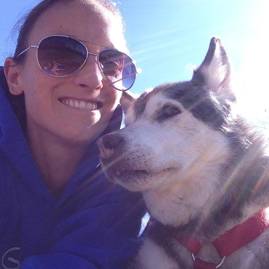 dog walker Kelly