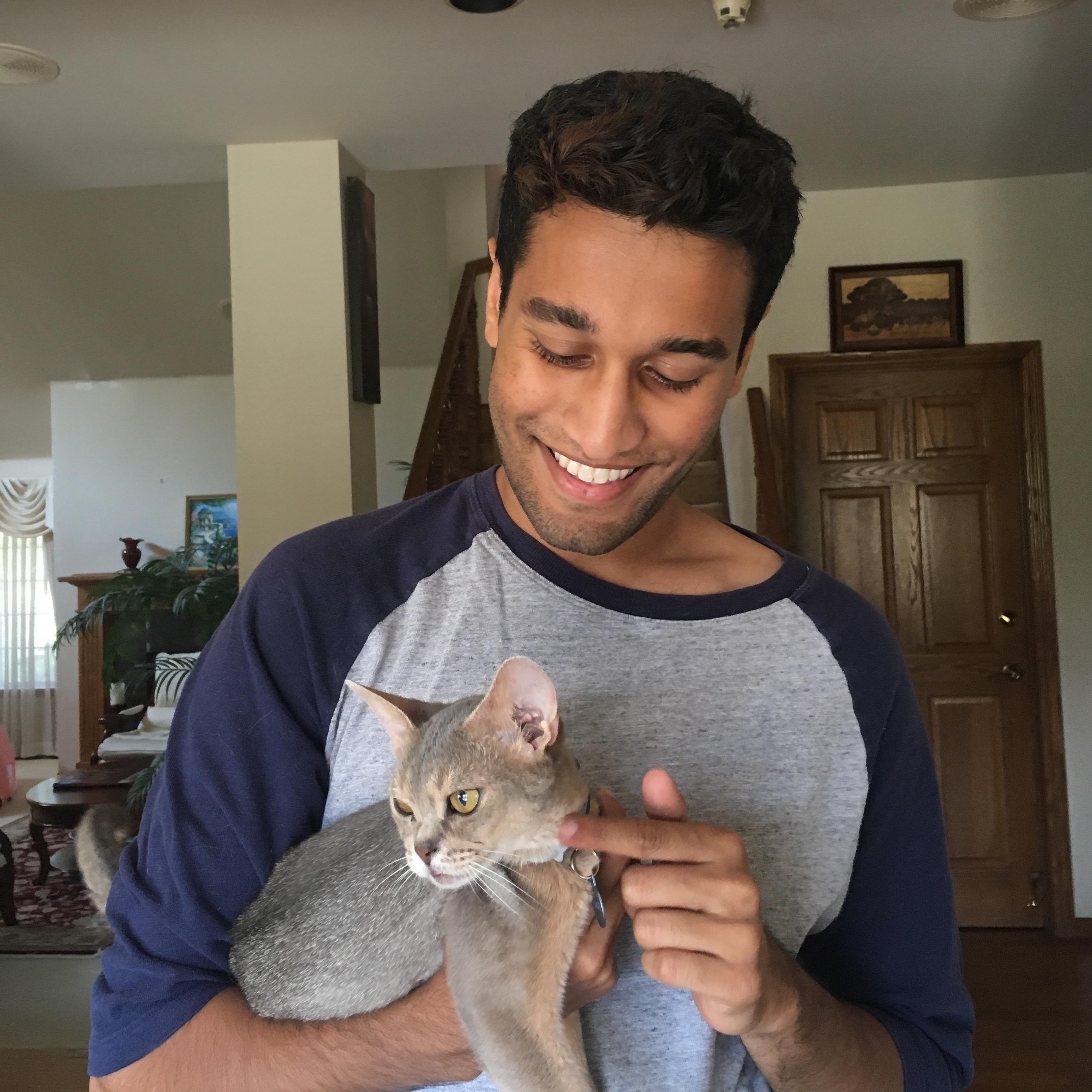 pet sitter Sandeep