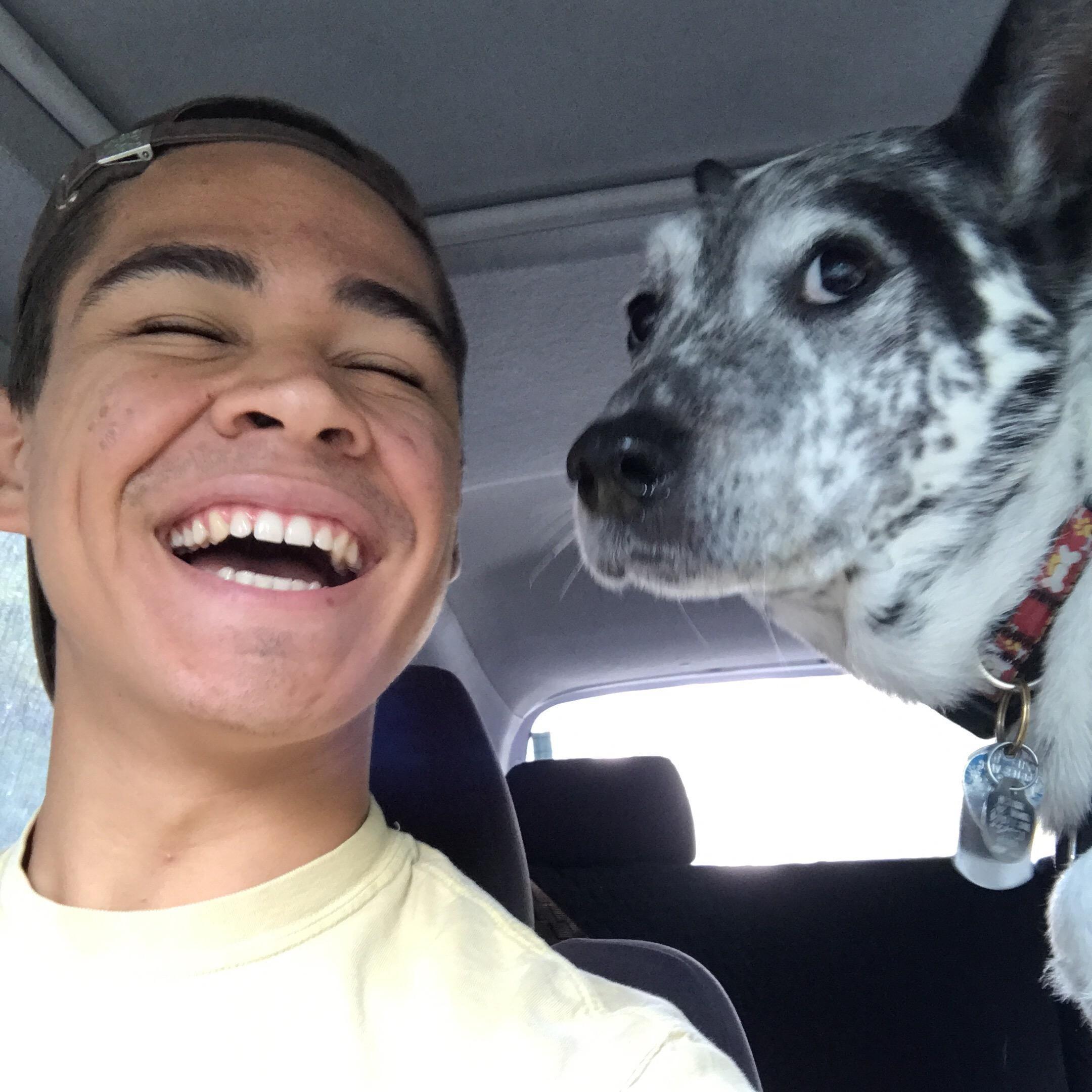 dog walker Elijah & Isaiah