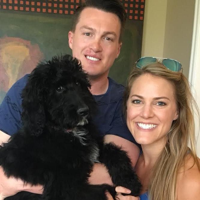 dog walker Clint & Jennifer