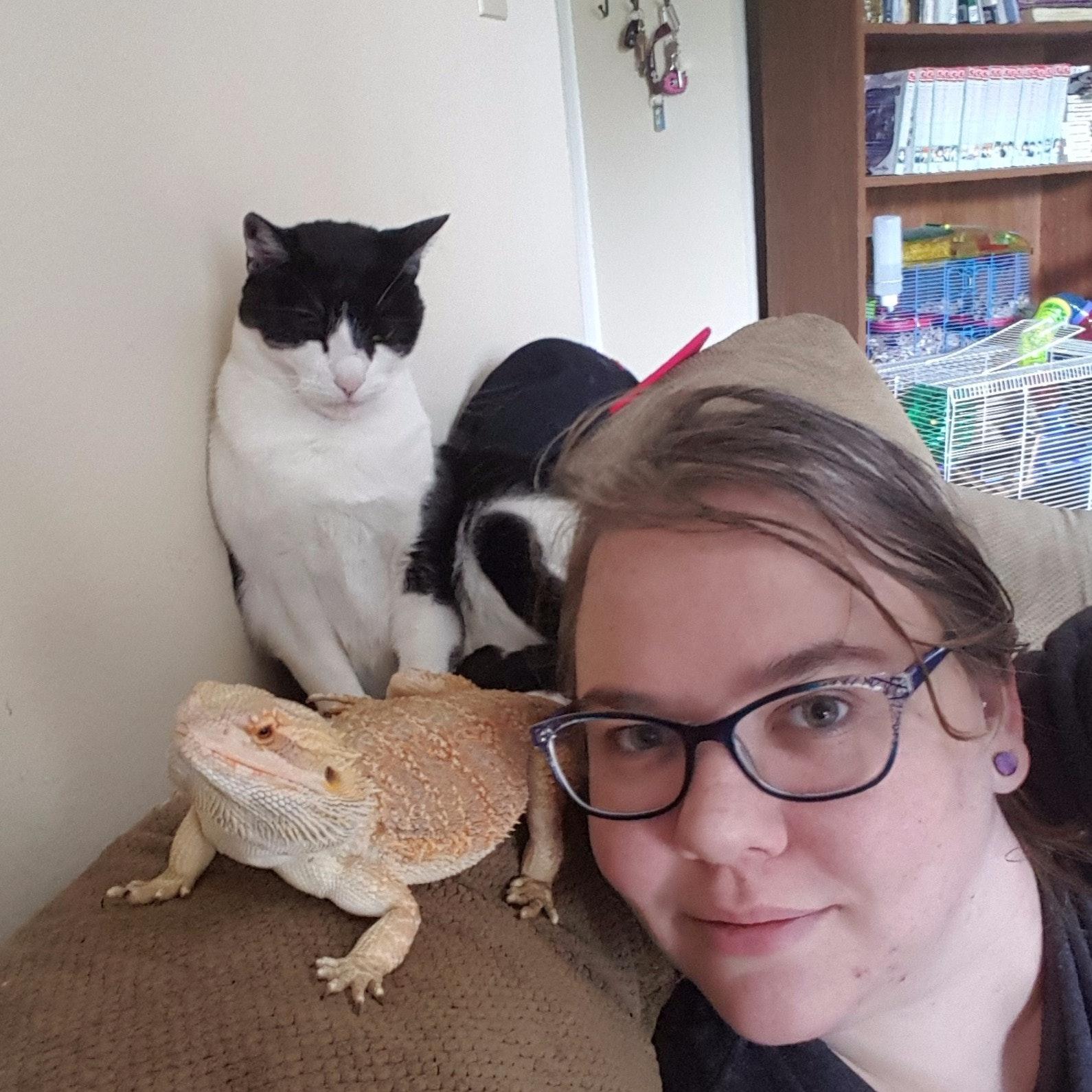 pet sitter Jessica