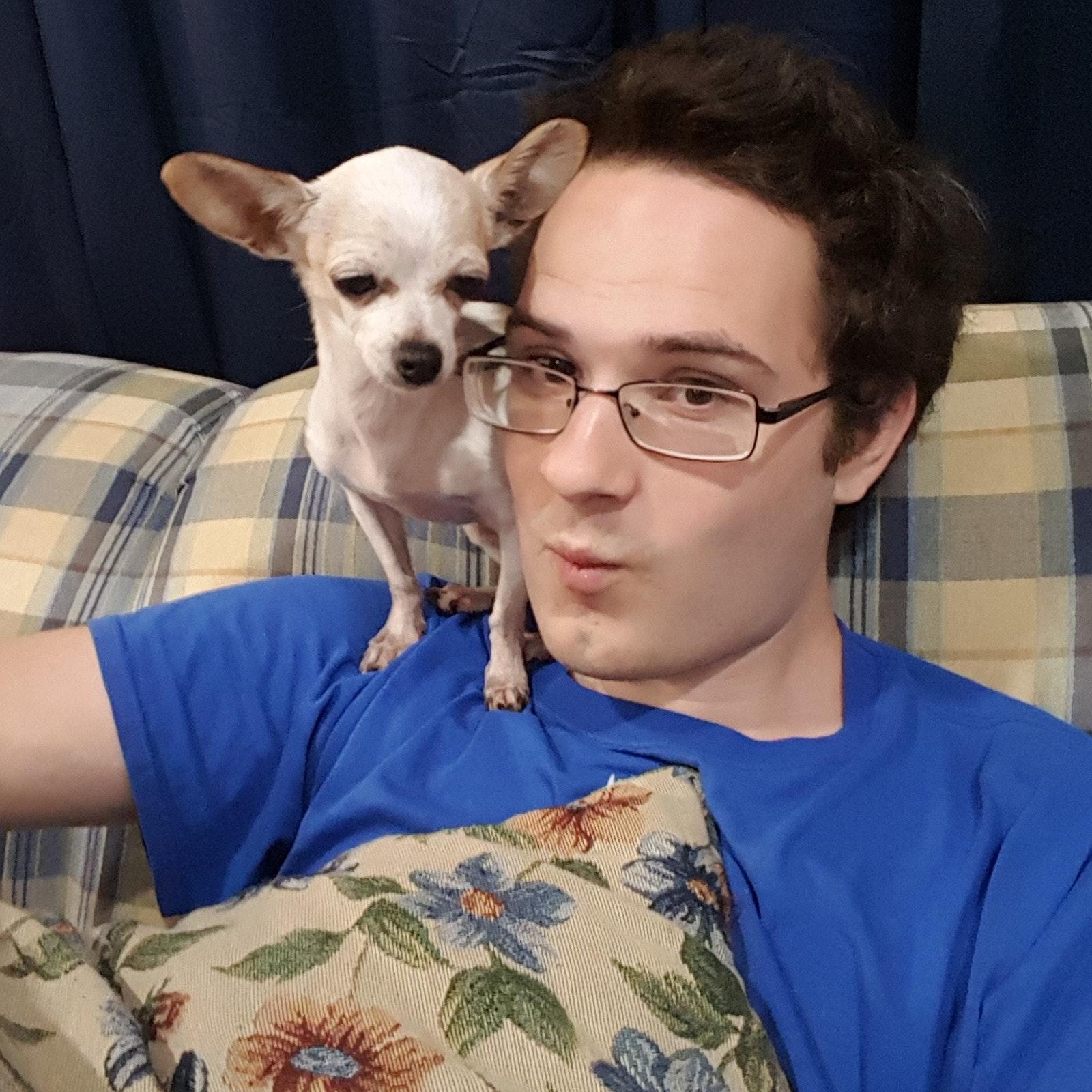 dog walker Caleb