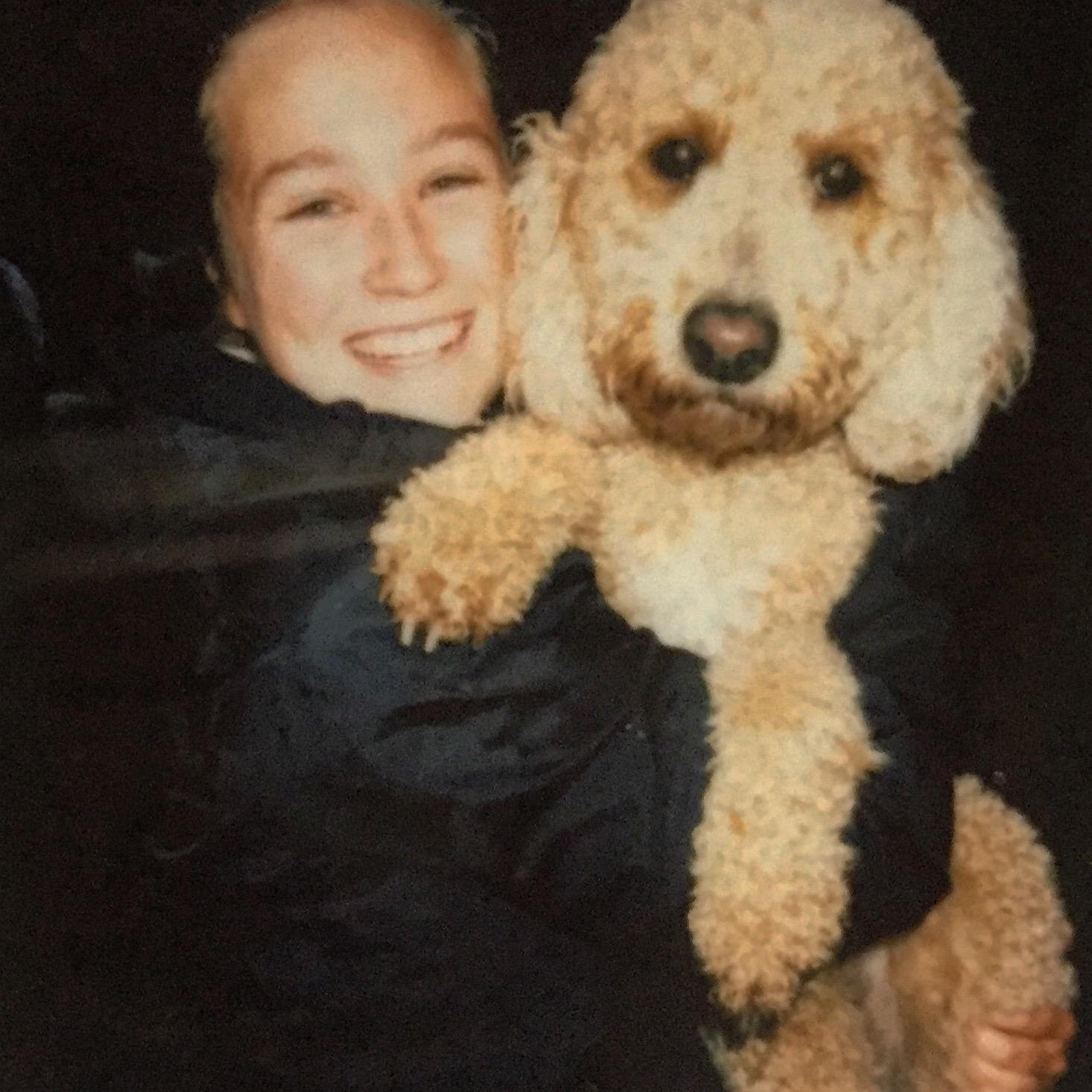 dog walker Phoebe