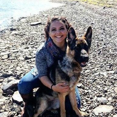 dog walker Corinne