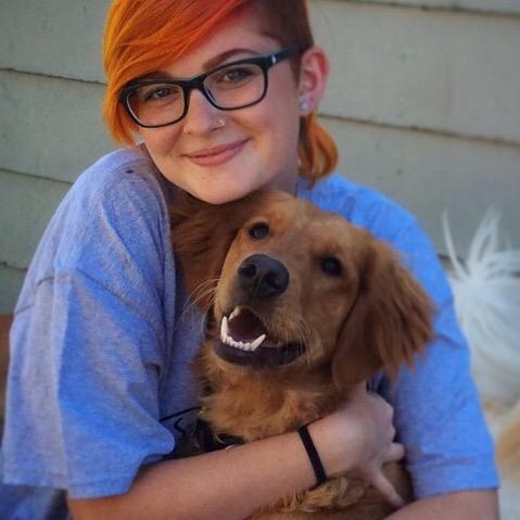 dog walker Frankie