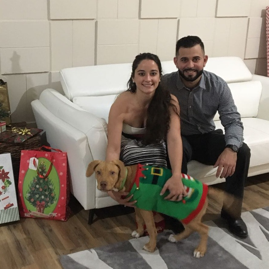 pet sitter Virginia & Alejandro