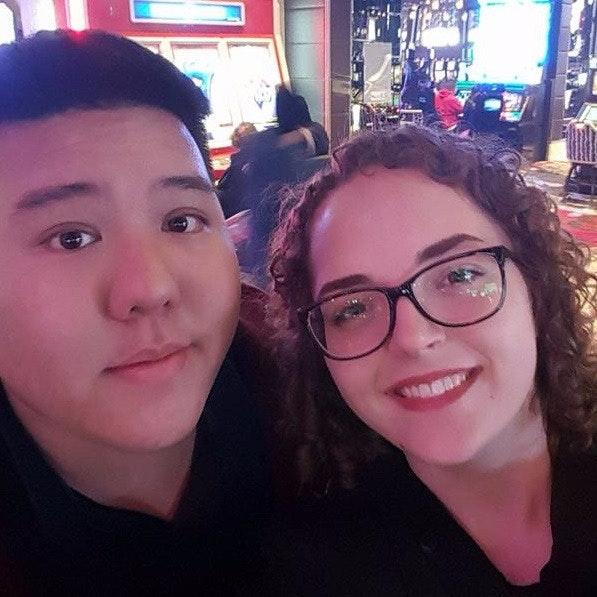 Steven and Jasmine K.