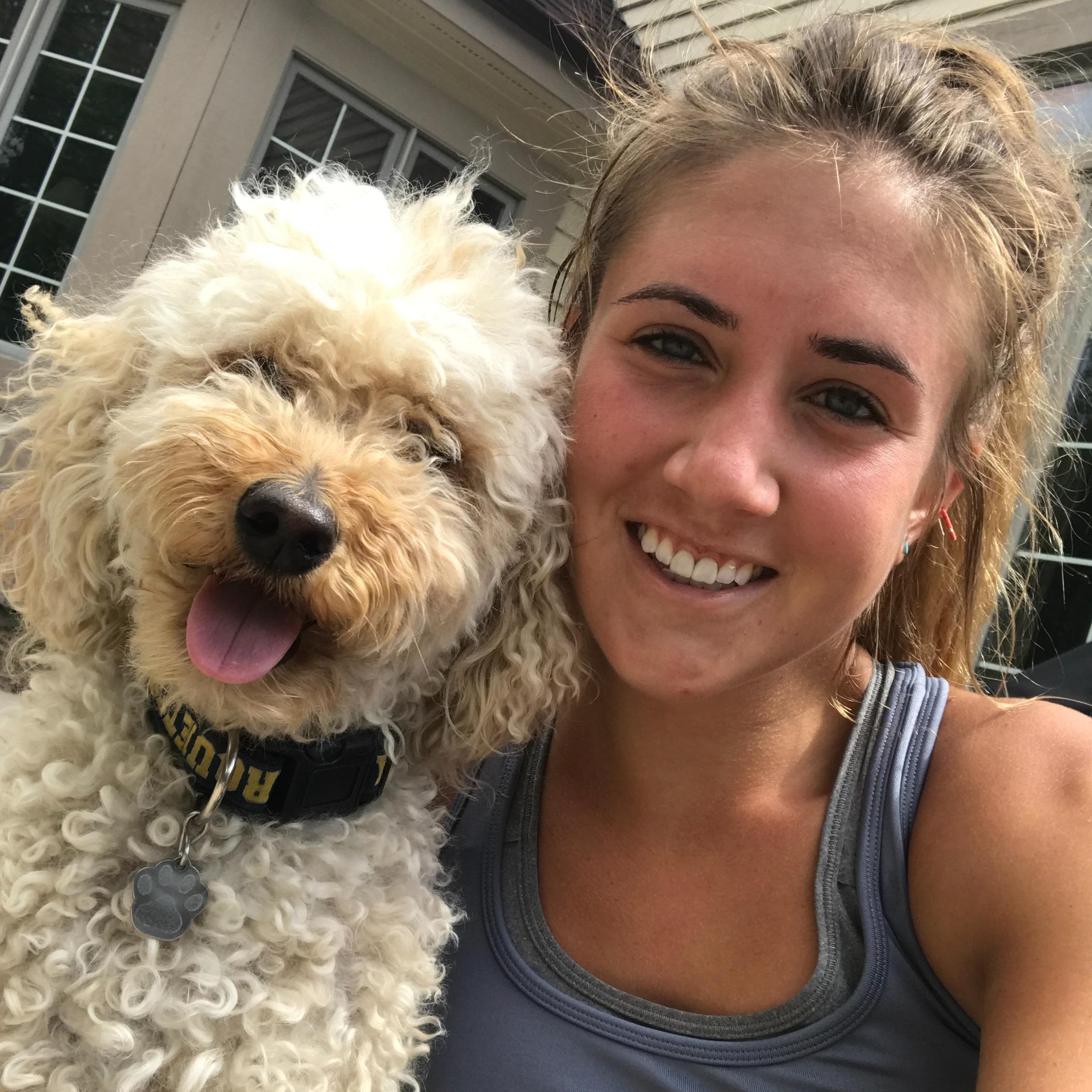 dog walker Andie
