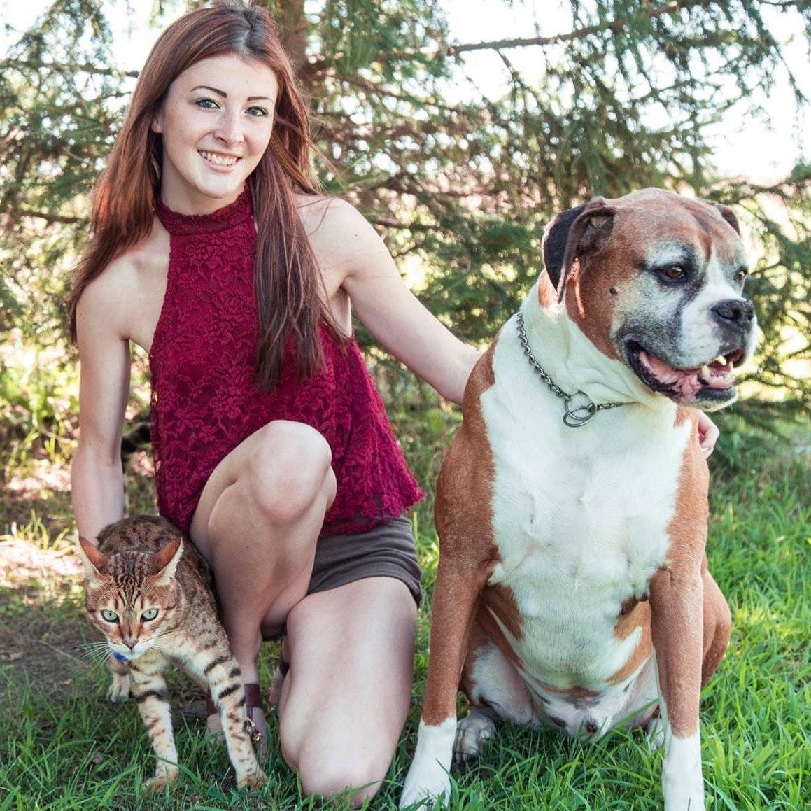 dog walker Caitlin