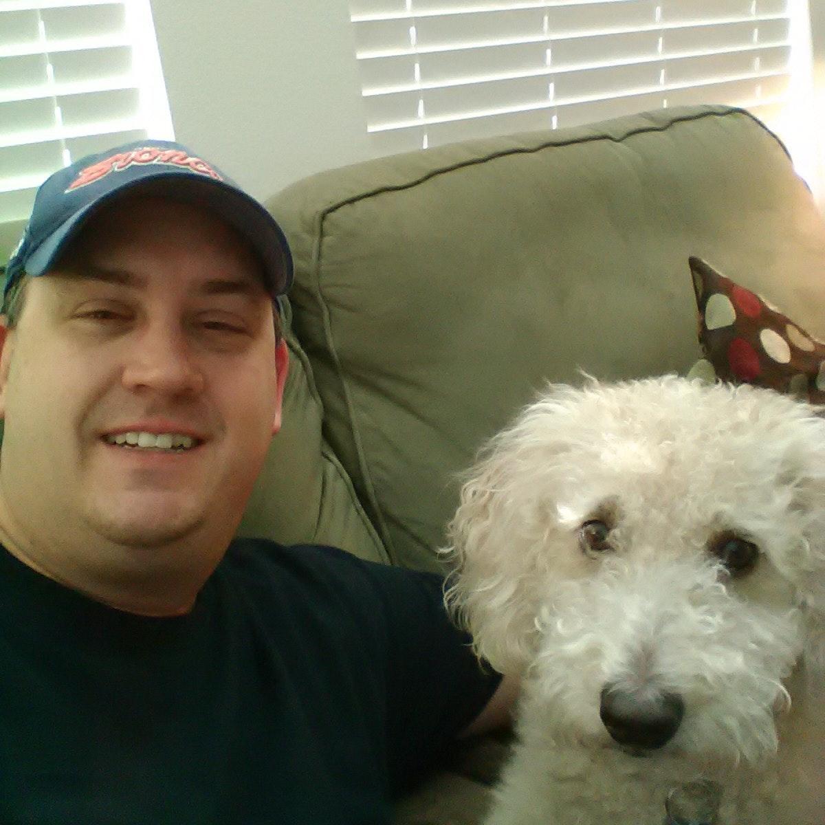 dog walker Brad