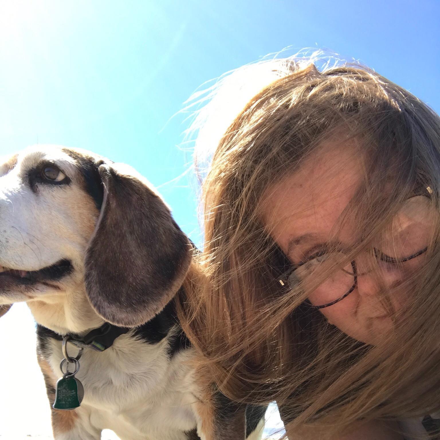 dog walker Nellie