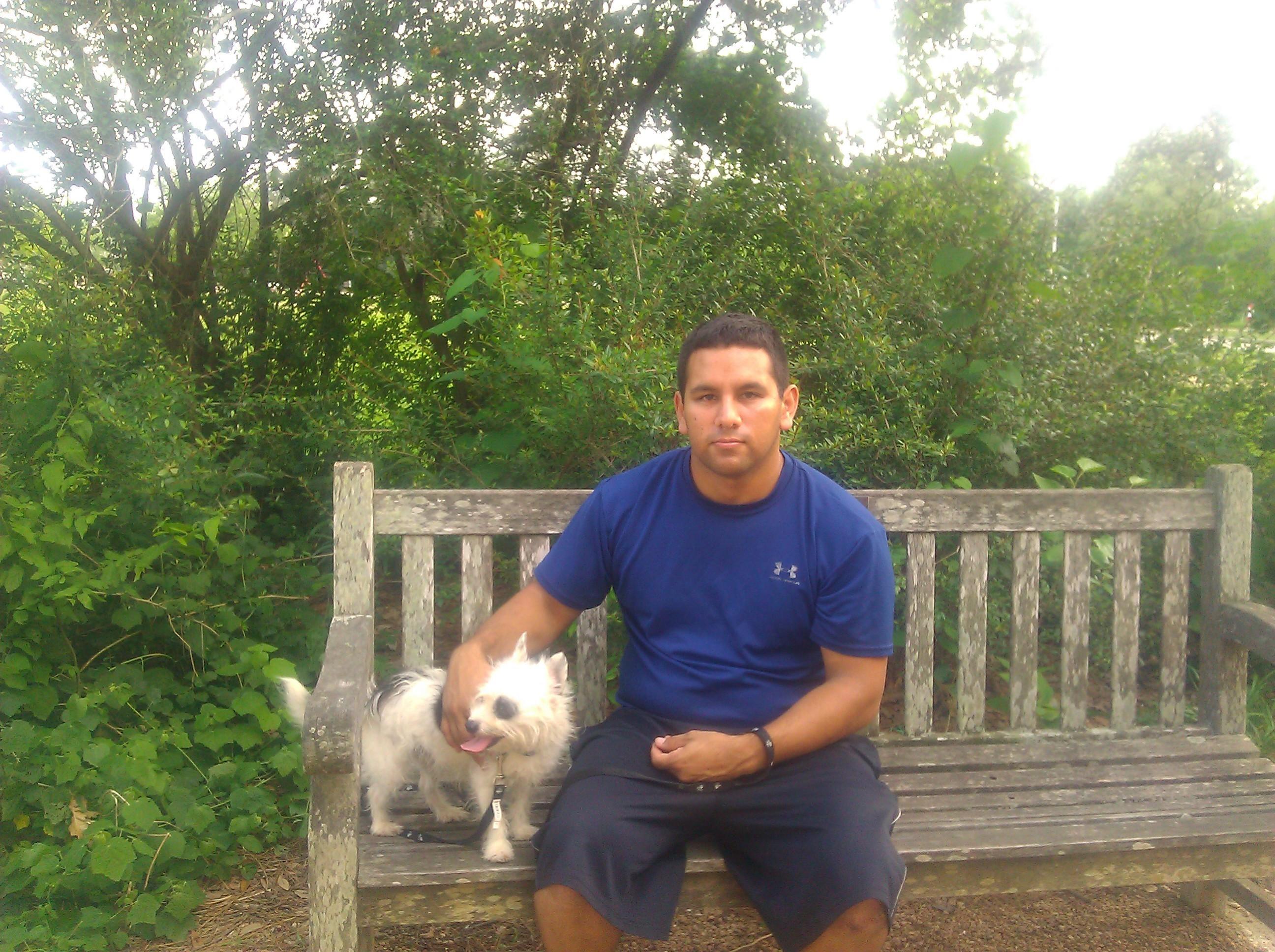 dog walker Adrian