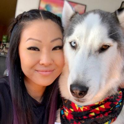 dog walker Ayumi