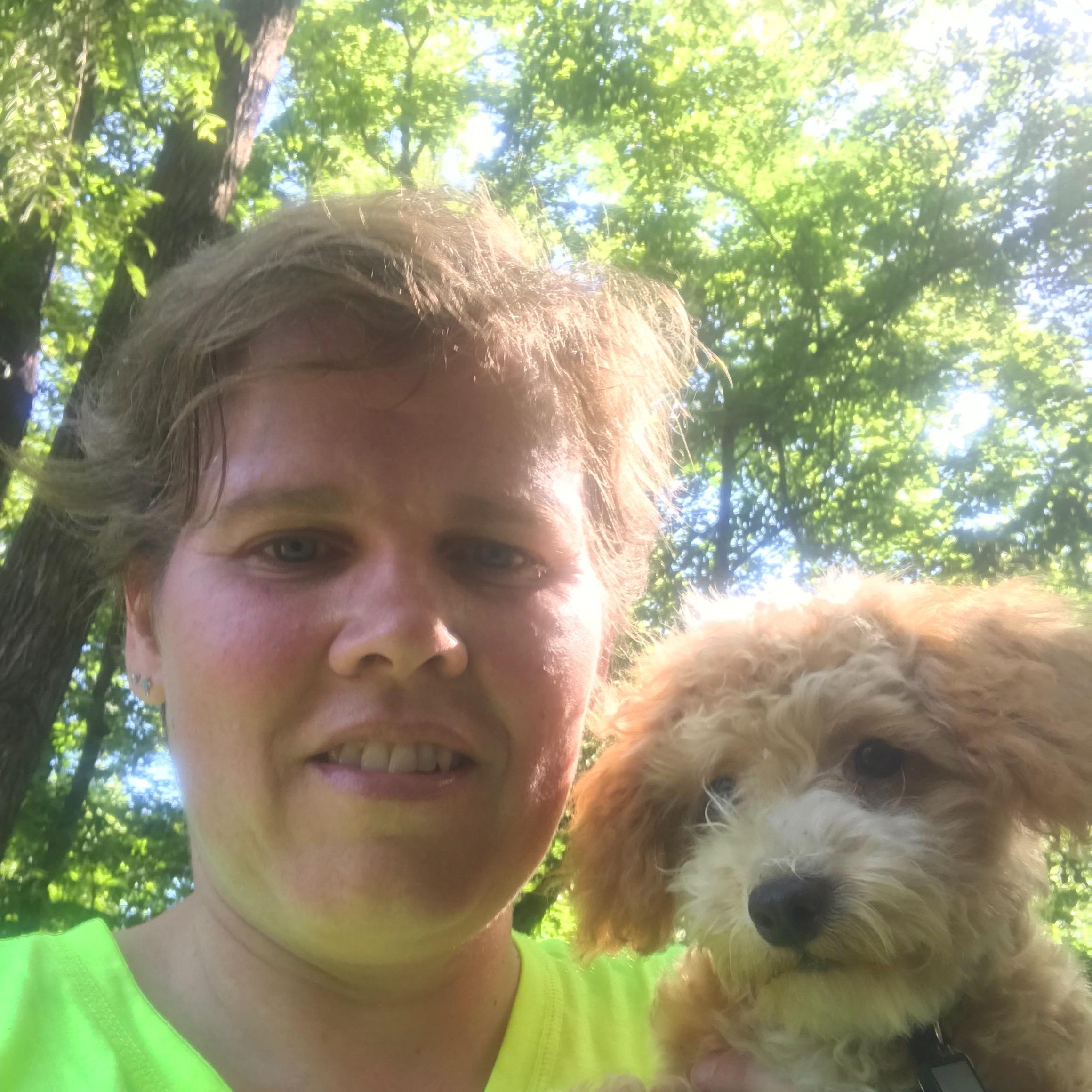 dog walker Taffi