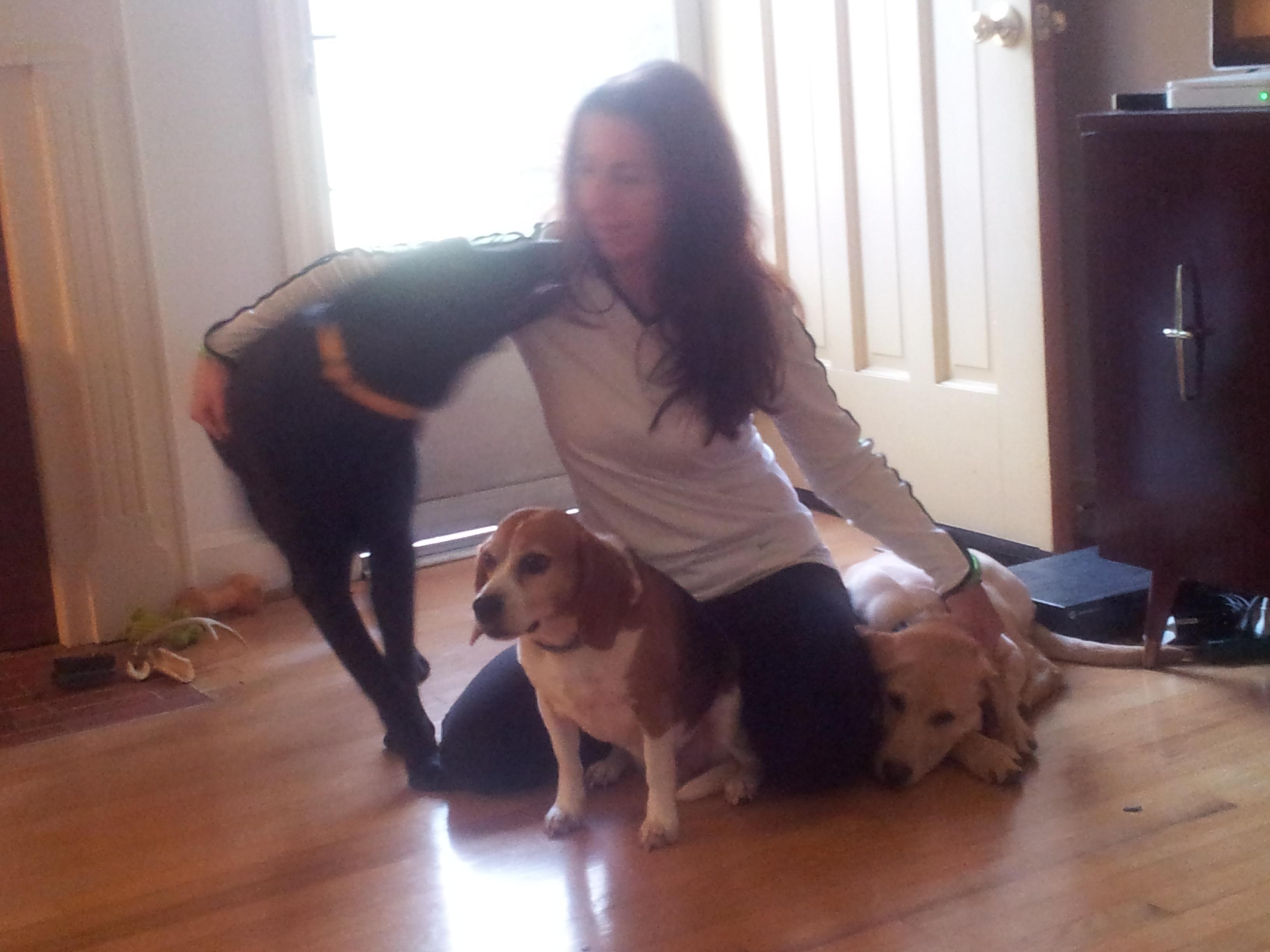 dog walker Lara