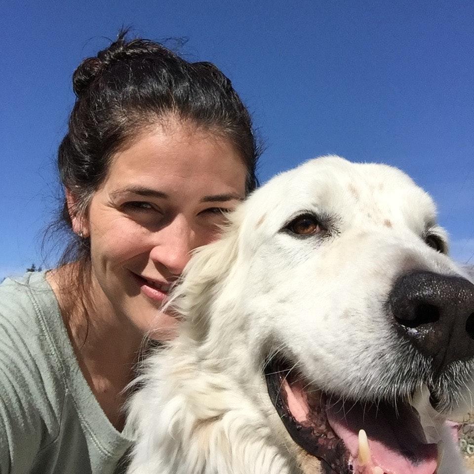 dog walker Celeste