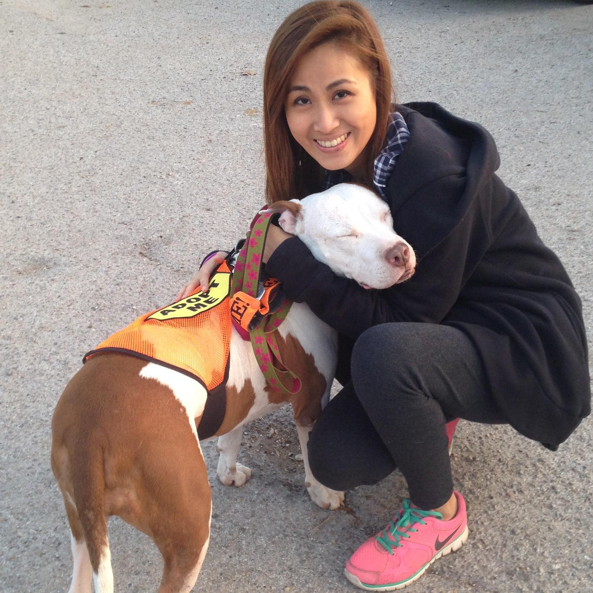 dog walker Catherine