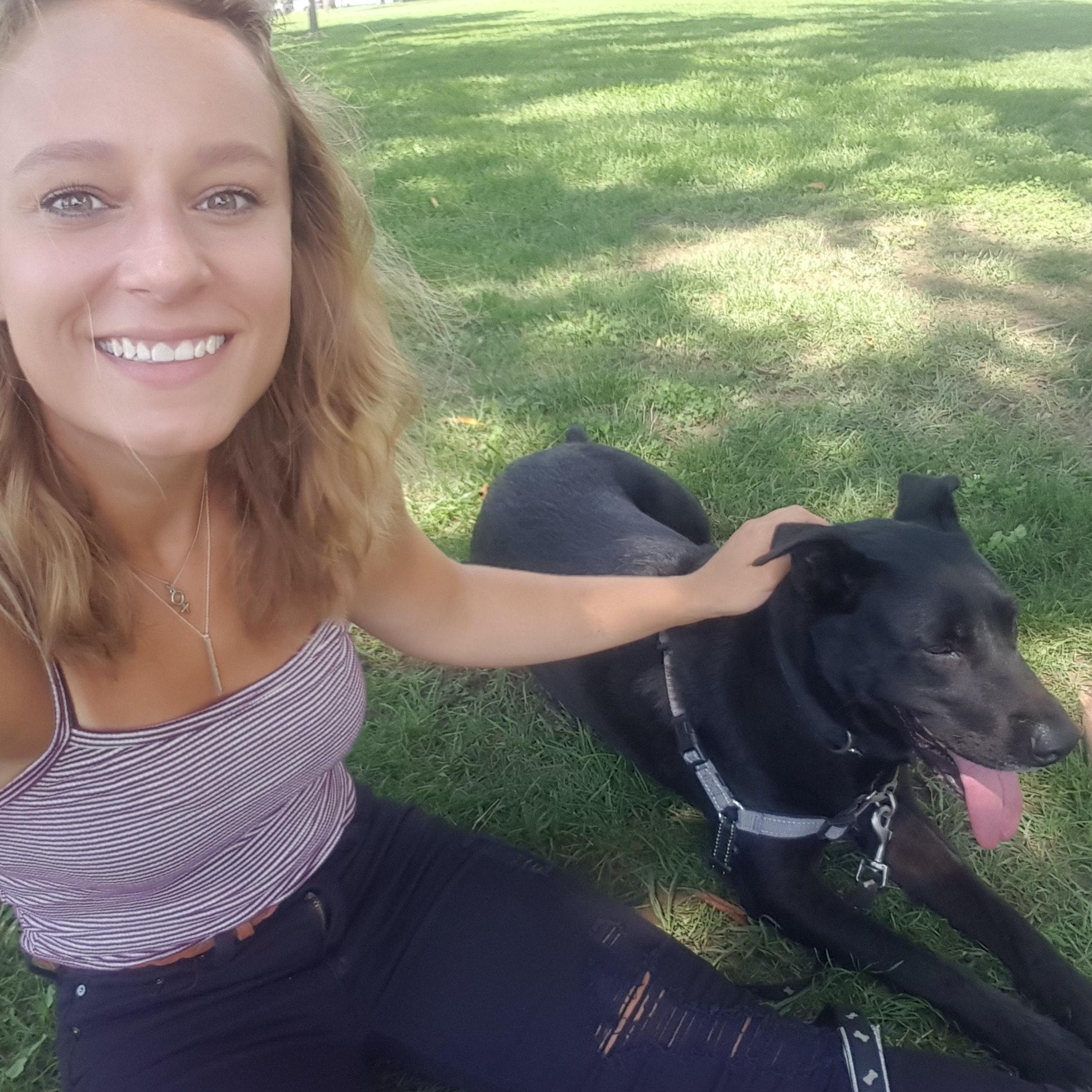 dog walker Traci