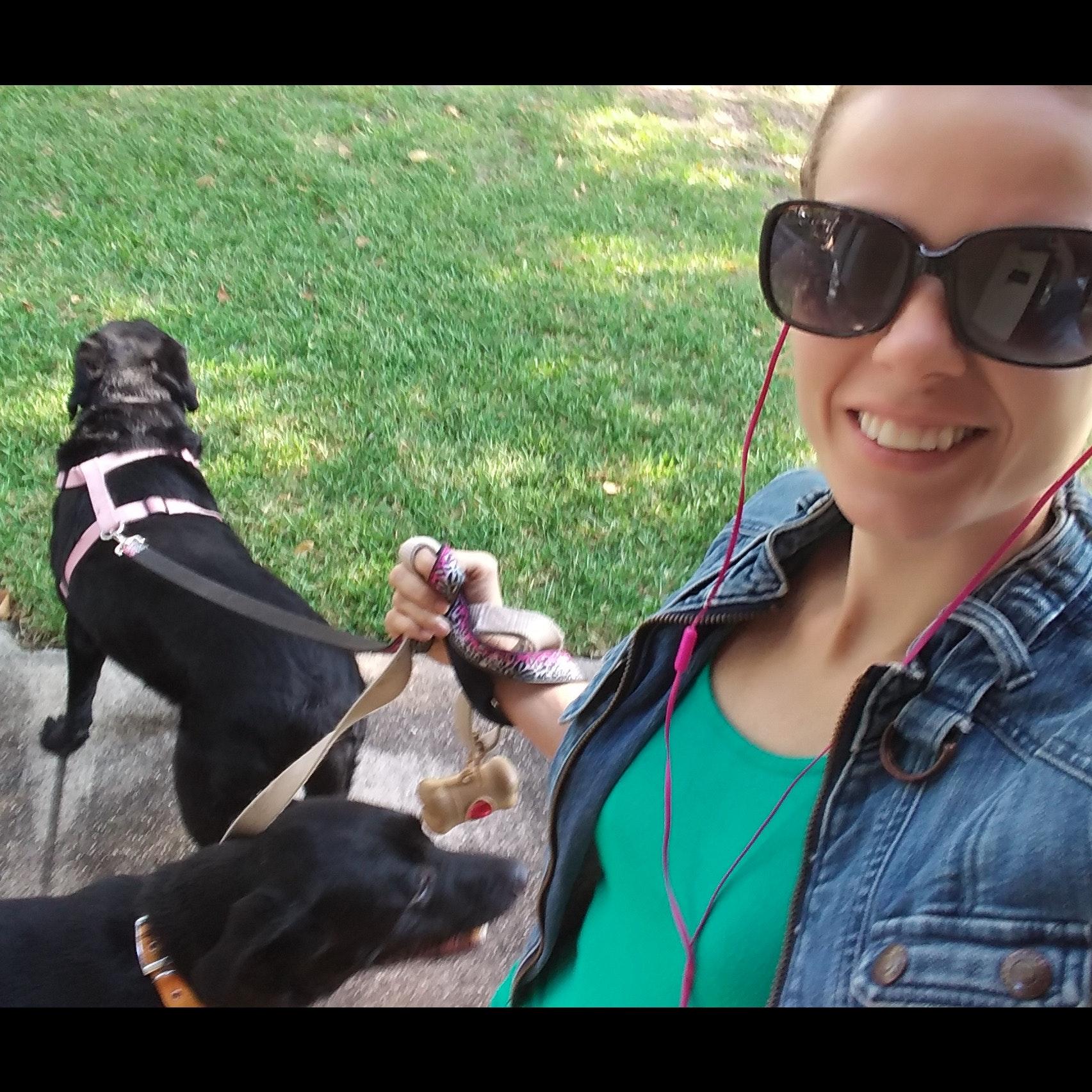 dog walker Candace