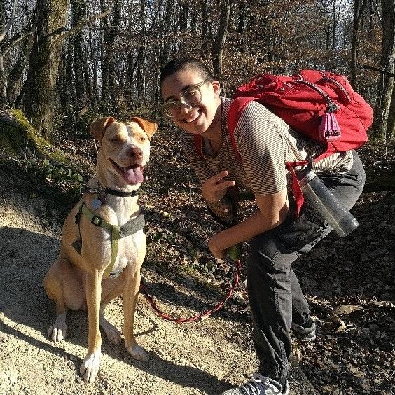 dog walker Jodie