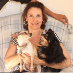 pet sitter Margaret and George