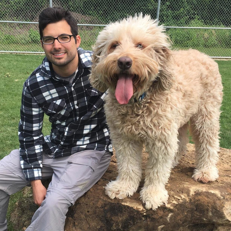 dog walker Elliot