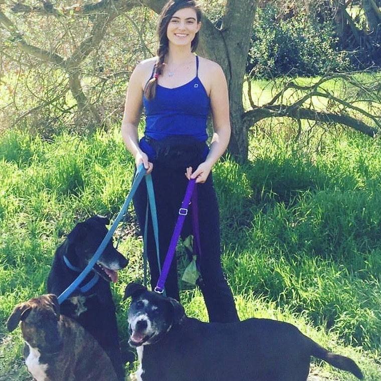 dog walker Darshana