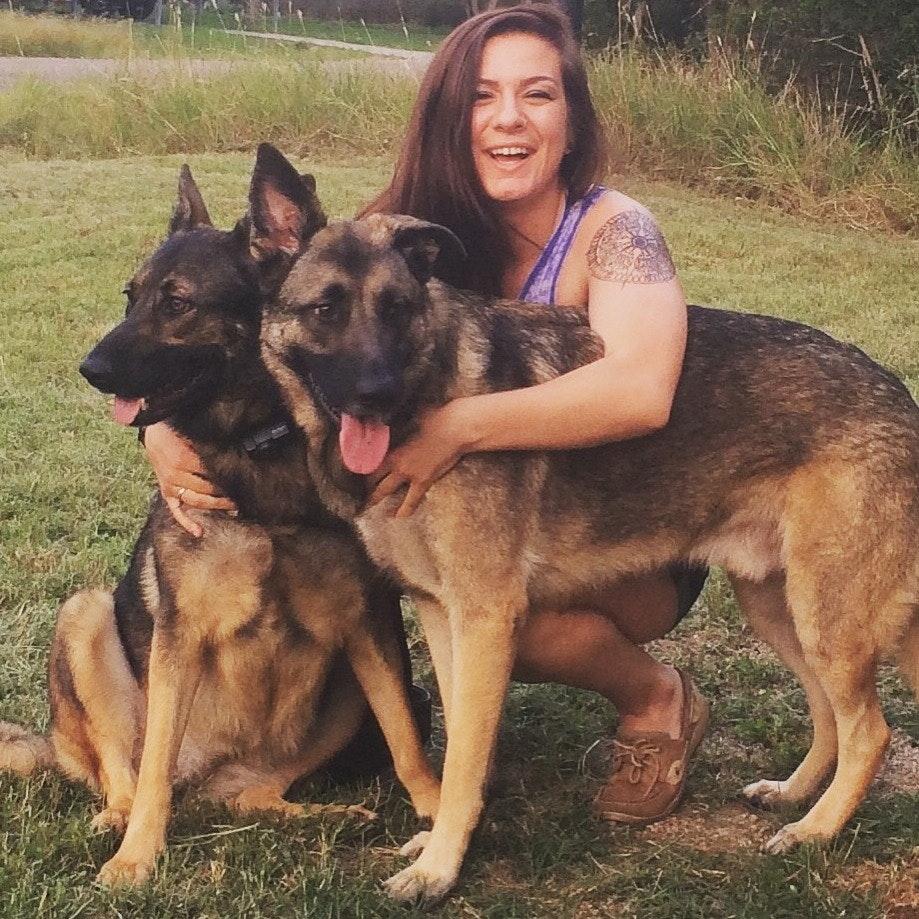 dog walker Charity