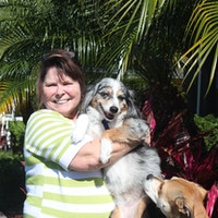 dog walker Elsie