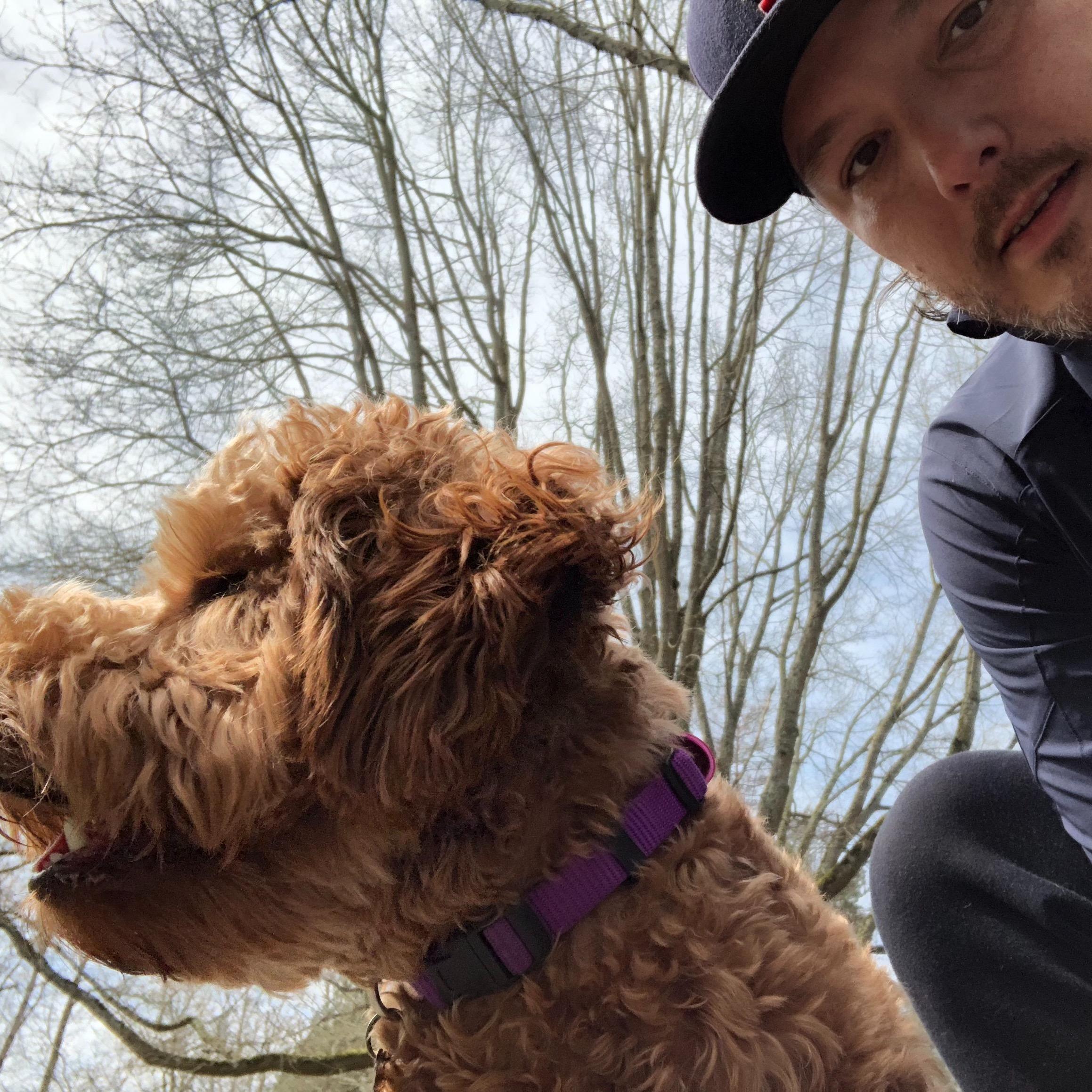 dog walker Richard