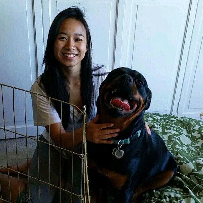 house sitter Mei Li