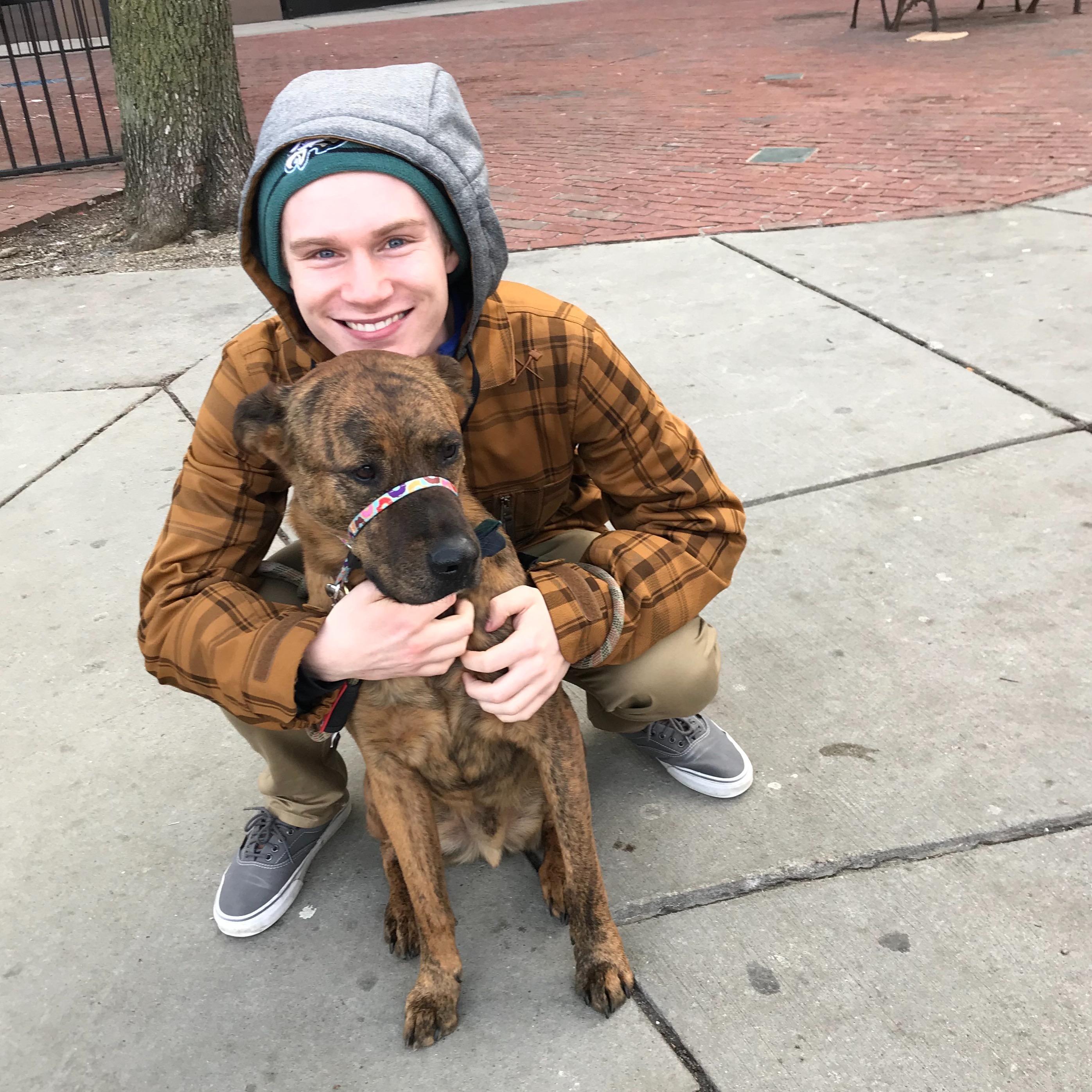 dog walker Dan